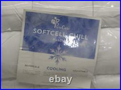 Purecare PCFRIOP612 Cooling SoftCell Chill Memory Foam Pillow, Reversible, King