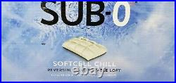 Purecare Sub-0 Cooling SoftCell Chill Memory Foam Reversible Pillow, Queen