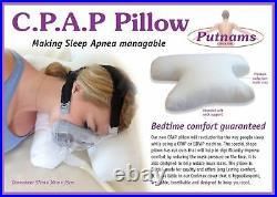Putnam CPAP Sleep Apnea Pillow Continuous Positive Airway Pressure Oxygen Mask