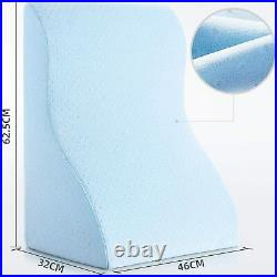 Reading Pillow Memory Foam Wedge Pillow Perfect for Back Support While