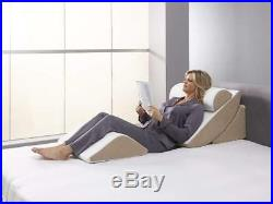 Relax The Back Outlast Fiber Adjustable Bed Wedge Set with Memory Foam