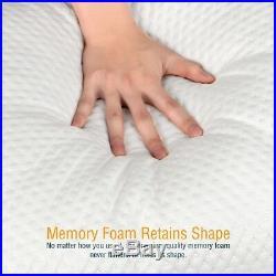 Reversible Cool Warm Silk Fabric Shredded Memory Foam Queen Pillow