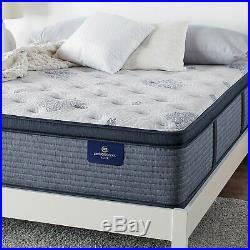 SERTA 14 in Pillow Top Plush Mattress King Size Cooling Gel Memory Foam Sleeper