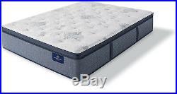 SERTA 14 in Twin Size Plush Mattress Gel Memory Foam Pillow Top Cooling Sleeper
