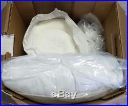 SERTA 4 Pillow Top and Memory Foam Mattress Topper CAL KING NEW OPEN BOX