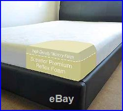 SUPERIOR Memory Foam Mattress 2ft 3ft 4ft 5ft 6 SINGLE DOUBLE KING SUPER SMALL