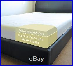 SUPER COMFORT Memory Foam Mattress + 2 FREE Memory Foam Pillows