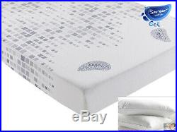 Sareer Gel High Density Cooling Memory Foam Mattress Various Sizes FREE PILLOWS