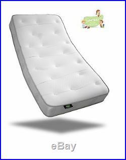 Sareer Kids 1000 Pocket Sprung Memory Foam Mattress Various Sizes FREE PILLOWS