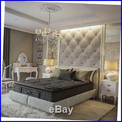 Savile Row No. 14 Premium Innerspring and Memory Foam Hybrid Pillow Top 13.5 Inc