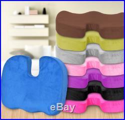 Sciatica Coccy Pain Relief Memory Foam Soft Seat Chair Cushion Tailbone Pillow