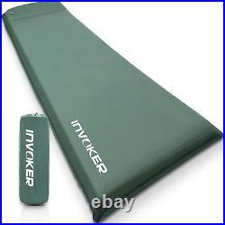 Self Inflating Memory Foam Camping Sleeping Mat Pad with Built in Pillow, Air