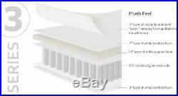 Series 3 Hybrid 12 Gel Memory Foam Pillow-Top Mattress Twin XL Size