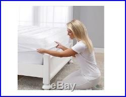 Serta Brand 4 Pillow Top and Memory Foam Mattress Topper Queen Size NEW