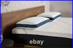 Serta iComfort Carbon Fiber Memory Foam Pillow, Queen, Grey