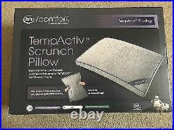 Serta iComfort TempActiv Scrunch Pillow, Queen