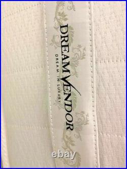 Sheraton 1000 Pocket & 2 Memory Foam Pillow Top Double Mattress. EX Display
