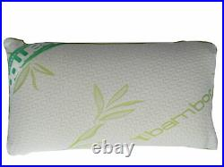 Shredded Memory Foam Bamboo Pillow, Anti-Bacterial, Orthopedic Premium Cool Pillow