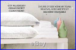 Shredded Memory Foam Pillow With Bamboo Cover Coop Home Goods Made In Usa, Q