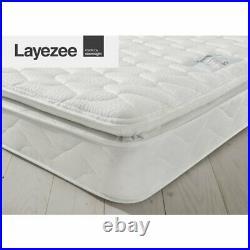 Silentnight Double (4'6) Mattress -Open Coil Pillow Top Memory Mattress RRP £299
