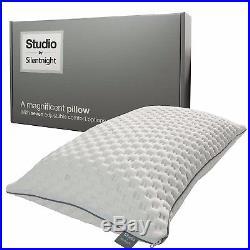 Silentnight Studio Memory Foam Double Mattress Softer with 2 studio pillows
