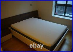Simba Double Mattress with Simba Pillow and Mattress Protector 135 x 190 cm