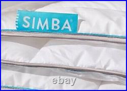 Simba Honeycomb Memory Foam Pillow X2 60cmx40cm and King size duvet Set