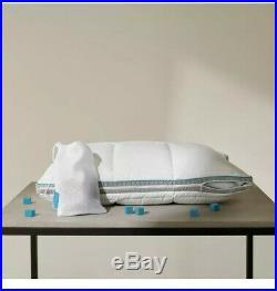 Simba Hybrid Pillow with Stratos 50 x 75 cm Temp Control & Customisable X2