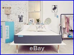 Simba Hybrid UK King Size Mattress Brand New Boxed + 2x Memory Foam Pillows