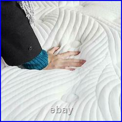 Single Mattress in a Box, 12 Inch Plush Pillow Top Gel Memory Foam