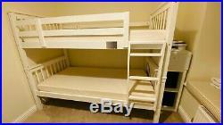 Single bunk beds memory foam mattress, Duvet, Pillows and mattress protectors