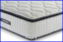 SleepSoul Bliss 800 Memory Pillow Top- SMALL DOUBLE 120cm Mattress RRP £459