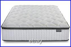 SleepSoul Bliss 800 Pocket Memory Pillow Top- DOUBLE 135cm Mattress RRP £459