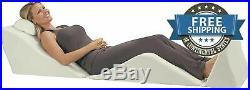 Sleep Bed Wedges Pillow Comfort Support Memory Foam Incline Rest Full Body Legs