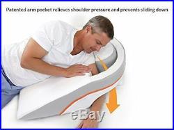 Sleep Better Bed Acid Reflux Wedge withPillow No Slide Advanced Position Benefits