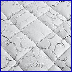 Sleep Instant Pillow Top Memory Foam and Fiber Hybrid Mattress Topper Queen