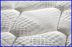 Sleep Soul Bliss Double 135cm 4FT6 Mattress Pillow Top Memory Foam Pocket Sprung