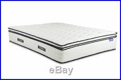 Sleep Soul Space Kingsize 150cm 5FT Mattress Pillow Top Memory Foam 2000 Pocket