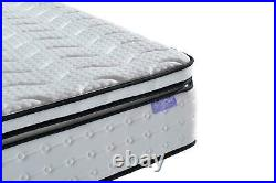Sleep Soul Space Single 90cm 3FT Mattress Pillow Top Memory Foam Pocket