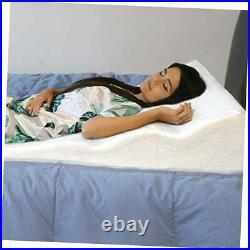 Sleeping Wedge, Premium Memory Foam, Helps Relieve GERD, Circulation &