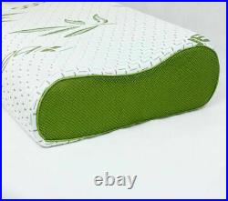 Soft Contour Memory Foam Pillow Neck Back Support Orthopaedic Firm Head