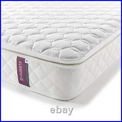 Summerby Sleep' No. 4 Pocket Spring and Memory Foam Pillow-top Mattress Single