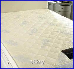 SuperKingsize 6Ft Memory Foam Pillow Top Divan Bed +End Drawer Free Delivery