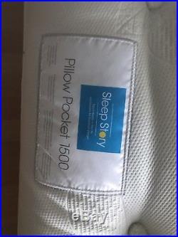 Super King Size, Sleep Story Pocket Pillow 1500 Mattress