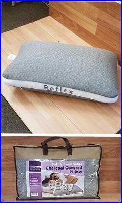 Super Soft Charcoal Reflex Pillow Sleep Easy Soft Supportive Memory Foam Pillow