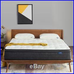 Sweetnight Queen Mattress in a Box 12 Inch Plush Pillow Top Hybrid Mattress