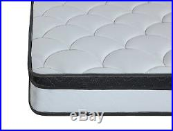 Swiss Ortho Sleep 10 inch Hybrid Innerspring and Memory Foam Pillow Top Cal