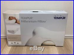 TEMPUR Genuine Memory foam Millennium Neck pillow Hard M size Fast Shipp Japan