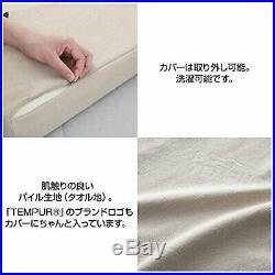 TEMPUR Genuine Memory foam Millennium Neck pillow M size Beige F/S withTracking#
