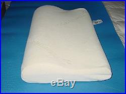 TEMPUR-PEDIC CONTOURED NECK Memory Foam Swedish Tempurpedic PILLOW (19x12) $149